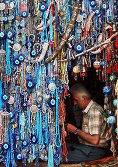 I must make it to an Istanbul market someday, so I can carefully select my own nazar boncugu!