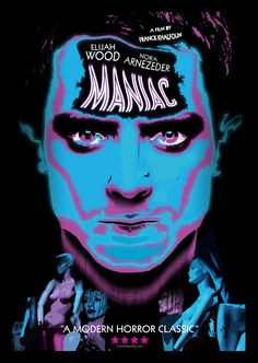 Maniac-one of the best remakes ever made Slasher Movies, Elijah Wood, Movie Poster Art, Horror Films, Serial Killers, Movie Tv, Joker, Artwork, Fictional Characters