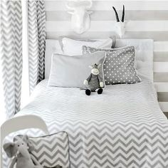 Chevron Bedding, Contemporary, boy's room, New Arrivals Inc