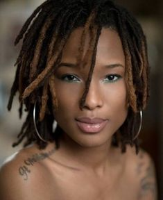 very cute, this makes me want locs..