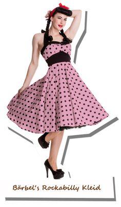 Bärbel's Rockabilly Kleid