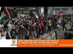 Το Ναυτικό του Ισραήλ σταμάτησε το πλοίο Estelle, στα ανοιχτά της Λωρίδας της Γάζας http://politicanea.blogspot.gr/2012/10/estelle.html