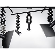 STUDIO RAIL SYSTEM amazing... Get your lights off the floor and easy to sue Rail system from www.backdropoutlet.com