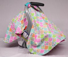 Hey, I found this really awesome Etsy listing at https://www.etsy.com/listing/224175478/owls-handmade-baby-girl-car-seat-canopy