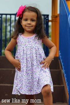 Knit Sundress by Sew Like My Mom for (30) Days of Sundresses - Melly Sews