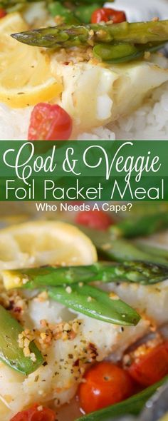 Cod & Veggie Packet Meals are an easy to prepare meal that delivers delicious flavors in no time. Perfect for entertaining, this meal is done in a flash.@alaskaseafood #AskForAlaska #IC #ad