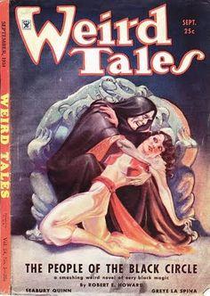 Weird Tales, horror magazine