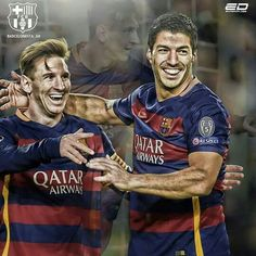Suarez&Messi