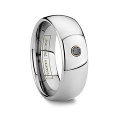 Our tungsten wedding bands are crafted from the highest quality of materials which is why our rings offer a lifetime of stylishness with minimal upkeep. Black Tungsten Rings, Tungsten Wedding Rings, Tungsten Carbide Rings, Rings Online, Anniversary Rings, Stone Rings, Wedding Ring Bands, Black Diamond, Reception