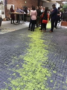Human Connections carpet from Interface is so textural and great for wayfinding! Gives you a park-like setting!