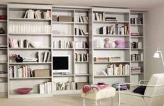 Contemporary bookcase / wall-mounted RIMA Raumplus