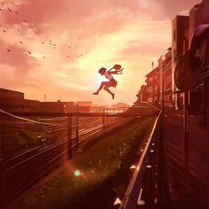 Leap by Kuvshinov-Ilya on DeviantArt