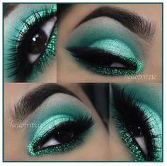 Beautiful Green Eyeshadow!!