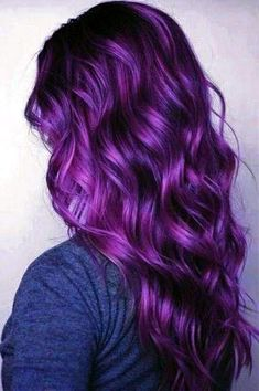 25 Purple Hair Color Ideas to Try in 2019 - 25 Purple Hair Color Ideas to Try in Purple hair color ideas are in right now, and what better these feminine purple hair? Purple hair colors are an excellent choice to try in 2019 beca…, Hair Color - Hair Color Purple, Cool Hair Color, Purple Lilac, Short Purple Hair, Bright Purple Hair, Violet Hair Colors, Dark Purple, Purple Style, Pastel Hair