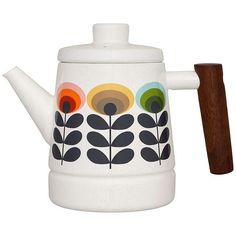 BuyOrla Kiely Teapot, 70s Flower, Multi Online at johnlewis.com