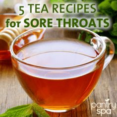 A sore throat can be painful and uncomfortable, keeping you awake at night. Try these all natural DIY sore throat remedies and recipes to get relief.