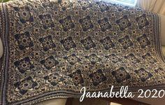 Virkattu huopa/Eastern Jewels crochet blanket Sequin Skirt, Sequins, Jewels, Blanket, Crochet, Handmade, Fashion, Moda, Hand Made