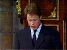 Princess Diana's Funeral Part 17: Earl Spencer's Tribute.  I am a Monarchist to my bones but I truly respect what the Earl says here and that he has not tried to hide his anger.