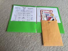 DIY Little Passports - Storage and Organization