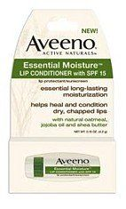 Aveeno Lip Conditioner Essential Moisture SPF#15 .15 oz. $2.53 #bestseller