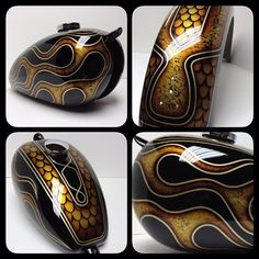 My motorcycle tins from Chemical Candy Customs.