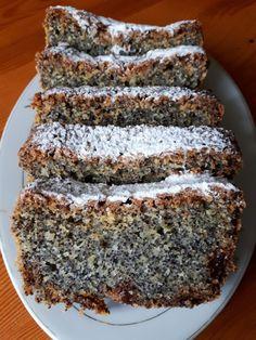 Keks makowy – Zasmakuj Kuchni Bread Recipes, Cake Recipes, Cooking Recipes, Dutch Apple Bread Recipe, Poppy Seed Cake, Carnitas Recipe, Good Food, Yummy Food, Healthy Sweets