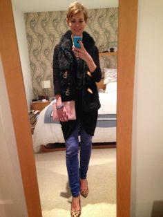 Style Guile: How to wear a fur gilet for a trip to the pub! Style Guile, Faith Shoes, New Look Jeans, Black Fur Vest, Frozen Film, Fur Gilet, Leopard Print Shoes, A Little Party