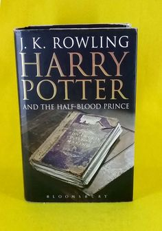 First Edition Harry Potter and the Half-blood Prince by J. Rowling used HB Sleepy Bear, Rowling Harry Potter, Selling Antiques, Half Blood, Vintage Books, Book Lovers, Prince, Ebay, Old Books