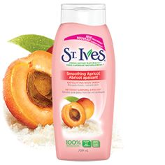 Nettoyant corporel exfoliant Abricot apaisant