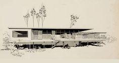 Backus House, Bel Air Estates, 1950 Photo: Carlos Diniz, Getting Going for Greta Magnusson Grossman