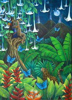 Costa Rican Dreams   The Art of Cathy McClelland