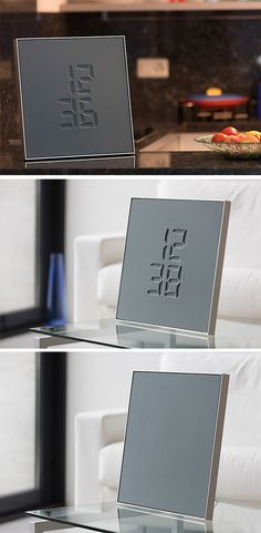 The Etch clock is a reminder that every passing second is a unique moment in time that will never exist again.