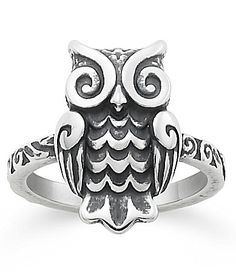 James Avery Woodland Owl Ring #Dillards