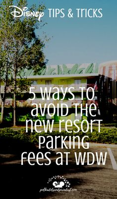 Walt Disney worlds new resort parking fees. What to expect and how to avoid them. All the ways we've found so far! Disney World News, Walt Disney World Vacations, Disney World Tips And Tricks, Disney Tips, Disney World Resorts, Disney Parks, Disney Worlds, Disney Travel, Disney Bound