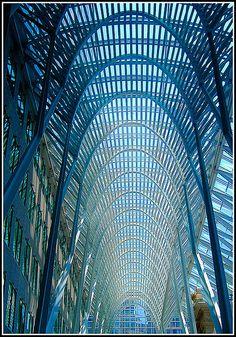 Allen Lambert Galleria in Toronto, Ontario, Canada