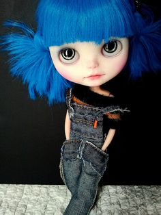 i'm still craving a blue haired girl - Carroll | Flickr