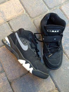 eebde9d108bc Nike Air Force Max Barkley Black 2007 Mens Sneakers Nike Air Force Max