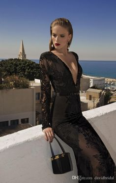 Show your best to all people even in the evening and then get custom made mermaid formal evening dresses gowns long black prom dresses corset red carpet lace applique sexy long sleeve in davidbridal and choose wholesale long sleeve evening dresses,maxi evening dresses and occasion wear on DHgate.com.