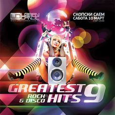 Flyer for Greatest Hits 9