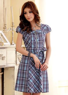 Fun Plaid Dress