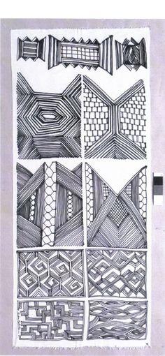Padrões de Pintura Corporral Kayapó e Assurini by Sandra Machado para Editions MeMo