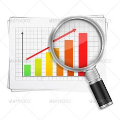Realistic Graphic DOWNLOAD (.ai, .psd) :: http://sourcecodes.pro/pinterest-itmid-1003608521i.html ... Chart with Magnifying Glass ...  analyze, analyzing, bar graph, business, chart, color, graph, growth, magnifier, magnifying glass, paper, success, vector  ... Realistic Photo Graphic Print Obejct Business Web Elements Illustration Design Templates ... DOWNLOAD :: http://sourcecodes.pro/pinterest-itmid-1003608521i.html