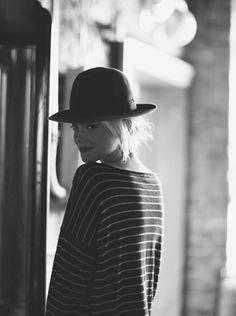 hats. stripes.