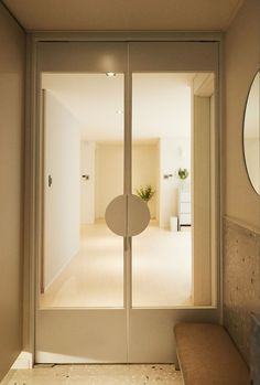 Cafe Interior Design, Residential Interior Design, Interior Architecture, Flur Design, Hall Design, Apartment Interior, Apartment Design, Style At Home, Home Office Design