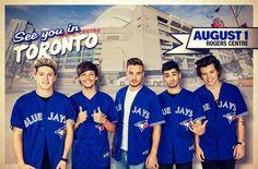 One Direction USA Tour Dates: TORONTO!