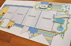 Scrapbook Generation - Baby Boy kit by Debbie Sanders