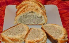 Retete Culinare - Placinta impletita cu carne Banana Bread, Tart, Healthy Eating, Pie, Desserts, Event Ideas, Food, Eating Healthy, Torte