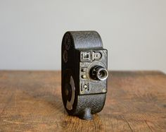 Vintage 8mm Movie Camera .. Filmo Sportster .. Bell and Howell