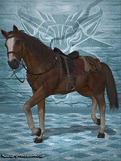 Geralt's trusty horse Roach ported from The Witcher 3: Wild Hunt to work in XPS. Fully rigged with original Bones renamed for the use in XPS. The model is equipped with various optional items, whic...