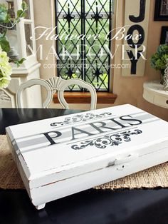 Stinky Gross Flatware Box Makeover | Confessions of a Serial Do-it-Yourselfer
